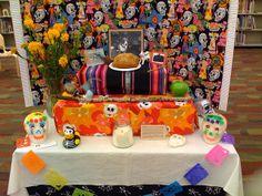 Dia de los Muertos Ofrenda at the library | Flickr - Photo Sharing!