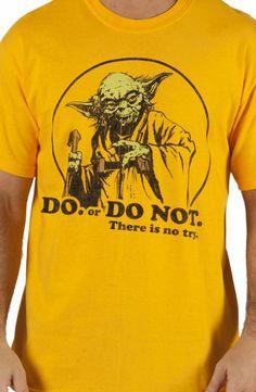 DO or DO NOT Yoda Shirt: 80s Movies Star Wars, Yoda T-shirt
