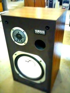 Vintage Yamaha NS-Series speakers. Click photo for more pics and story.