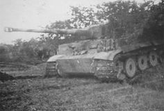Tiger with steel wheels of the schwere Panzer-Abteilung 508. Italy 1944
