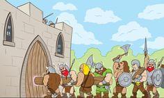 Barbarian horde