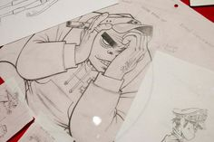 Gorillaz Damon Albarn, Jamie Hewlett, Tank Girl, Gorillaz, 2d And Noodle, Russel Hobbs, Favorite Things, Drawings, Artist