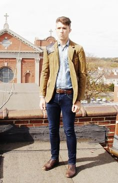 On the Library Roof (by Jordan Greene) http://lookbook.nu/look/4144170-On-the-Library-Roof