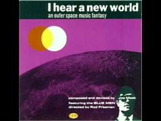 Longtime freaky fave-alien music!---Joe Meek & The Blue Boys - I Hear a New World (1960 FULL ALBUM)