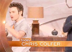 Chris Colfer on The Queen Latifah Show