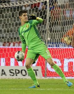Thibaut Courtois (goalkeeper) of Belgium.