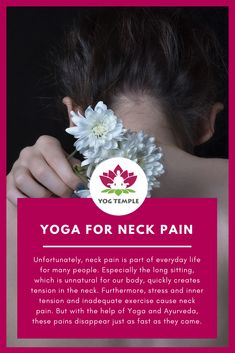 Yoga for neck pain - Yog Temple - Yoga, Ayurveda and Shamanims Ayurvedic Oil, Relaxation Exercises, Yoga Teacher Training Course, Self Massage, Head And Neck, Neck Pain, Ayurveda, Yoga Poses, The Help