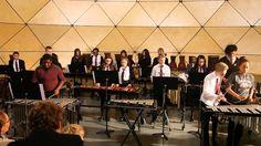 Dia 31/10, às 10h o Kingsdale Foundation School Percussion Ensemble fará uma apresentação no Espaço Cultural da Grota.