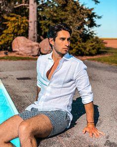 "Paul-Loup Chatin on Instagram: ""Un air d'été ☀️ . Thanks @lucafaloni 🇮🇹 for the perfect Linen Shirt 👌🏻 Perfect summer style 👍🏻 . . . . #lucafaloni #lifestyle #menstyle #men…"" Thanks, Portofino Shirt, Mother Of Pearl Buttons, Lifestyle, Air, Perfect Fit, Elegant, Shirts, Outfits"