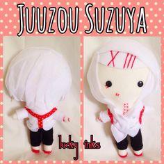 For sale at Kawaii-Kon! Juuzou Suzuya from Tokyo Ghoul! ^^