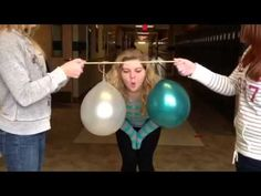 Bernoulli principle for kids, which says that increased air speed produces decreased air pressure is easy to demonstrate and a lot of fun for young children Preschool Science, Science Classroom, Teaching Science, Science Activities, Science Fair Projects, Science Lessons, Flight Lessons, Physics Experiments, Second Grade Science