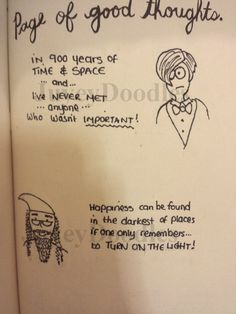 facebook.com/JuyeyDoodles Wreck this journal - geeky, Doctor Who and Harry Potter