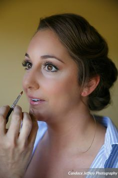 CT Wedding Hair and Makeup at the Waterview by Dana Bartone and Company captured by Candice Jefferey Photography.