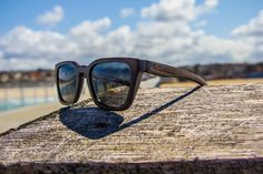45352c45aead Handmade wood wooden wayfarer style sunglasses that float. Made with Eco-friendly  Bamboo.