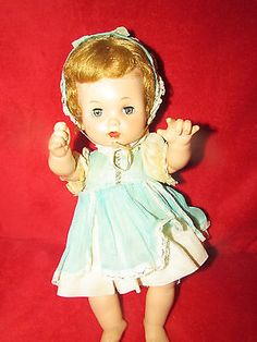 Very Old Effanbee Composition Sleepy Eyed Doll Original | eBay