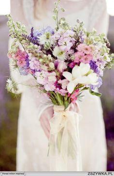 bukiet ślubny polne kwiaty - Szukaj w Google