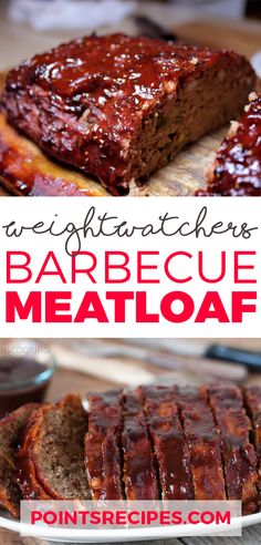 Barbecue Meatloaf (Weight Watchers SmartPoints)