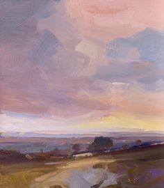 David Atkins | Evening Approaches, Ashdown Oil on Board