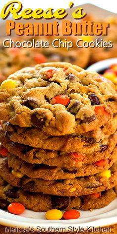 Reeses Peanut Butter, Peanut Butter Cookies, Yummy Cookies, Peanut Butter Snacks, Cookie Butter, Nutter Butter, Köstliche Desserts, Delicious Desserts, Dessert Recipes