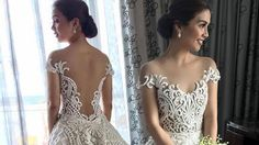Kaye Abad Wore A Gorgeous Francis Libiran Gown To Her Wedding