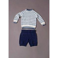 Børne Ragland trøje med mønster - gratis PDF opskrift