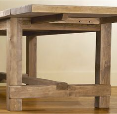 RHs Salvaged Wood Farmhouse Rectangular Extension Dining TableA Perennial Classic Our Table