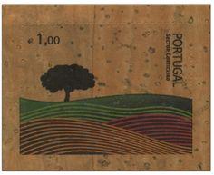 selo cortiça cork stamp