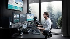 Blackmagic Design is organizing free DaVinci Resolve editing workshop. Get complete details of training sessions and register yourself. Studio Room, Studio Setup, Home Studio, Home Office Setup, Home Office Desks, Office Chairs, Video Editing Studio, Best Ergonomic Office Chair, Computer Desk Setup
