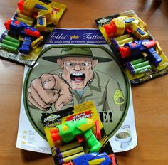 Army Themed Party Games