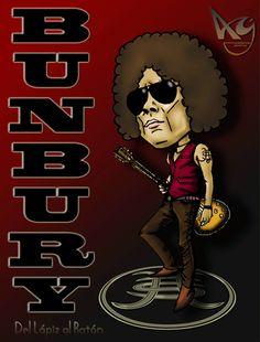 enrique bunbury | Caricatura de Enrique Bunbury