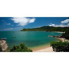Private beach at Santiya resort, Koh Pha Ngan, Thailand