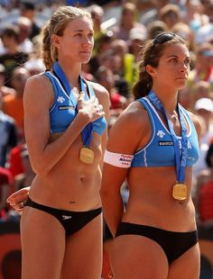 Misty May & Kerri Walsh - USA Olympic Beach Volleyball Champions