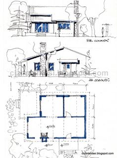 Architecture Concept Drawings, Art And Architecture, Architecture Details, Architecture Diagrams, Architect Sketchbook, Presentation Board Design, Architect Design, Illustration, Architectural Presentation