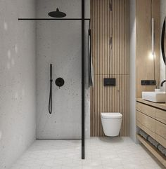 Bathroom decor for your bathroom renovation. Learn master bathroom organization, master bathroom decor suggestions, bathroom tile ideas, bathroom paint colors, and more. Bathroom Layout, Modern Bathroom Design, Bathroom Interior Design, Bathroom Storage, Bathroom Ideas, Bathroom Organization, Minimal Bathroom, Bath Ideas, Bath Design