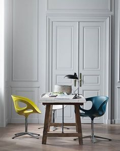 Rin chairs by Fritz Hansen at www.mootic.pl