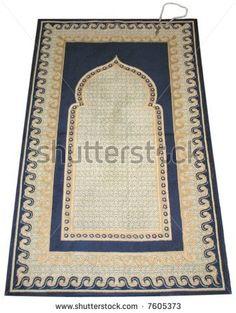 Prayer mat - stock photo