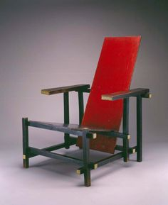 Gerrit Thomas Rietveld (Dutch, 1888–1964) | Red/Blue Chair (Rood Blauwe Stoel) | designed 1918, 1922-1923 | Beech plywood | Purchase with funds from the Decorative Arts Acquisition Endowment, the Decorative Arts Acquisition Trust, the Friends of the Decorative Arts, and High Museum of Art Enhancement Fund | 2002.256