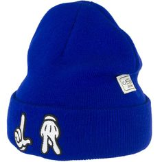 Cayler & Sons Beanie L.A. royal/white ★★★★★