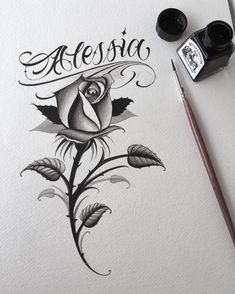 Tatuagem New Hair Cut tiger shroff new haircut Rose Drawing Tattoo, 4 Tattoo, Tattoo Sketches, Body Art Tattoos, Tattoo Drawings, Graffiti Tattoo, Graffiti Lettering, Chicano Lettering, Tattoo Lettering Fonts