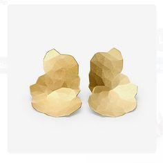 Gold Topia Earrings - Niessing…