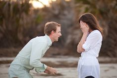 Priceless!!   Jekyll Island Surprise Proposal by Sarah DeShaw Photography  Read more - http://www.stylemepretty.com/georgia-weddings/jekyll-island/2012/04/30/jekyll-island-surprise-proposal-by-sarah-deshaw-photography/