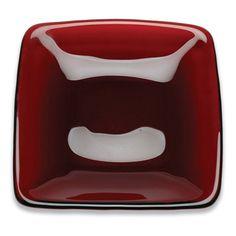 D&V Quadrato 5.5 in. Ruby Plates - Set of 6 - 574.1