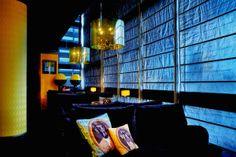 Restauracja Almi Cafè & Restaurant w Złotych Tarasach - sofy