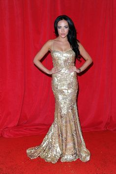 Pin for Later: All Hail Hollyoaks! Get Your Soap Awards Style Recap Stephanie Davis