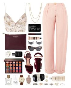 """Cassia"" by sophiehackett ❤ liked on Polyvore featuring Topshop, Laurence Dacade, NARS Cosmetics, Violet Voss, Birchrose + Co., Emi Jewellery, Aspinal of London, Samira 13, WYLDR and Aesop"