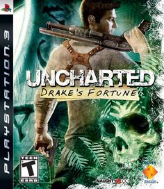 Uncharted: Drake's Fortune Rockin' the game!