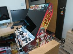 BARTOPMANIA: Your other builds (bartops or full-sized) » Metal Slug Theme Bartop | Bartop arcade building | Scoop.it