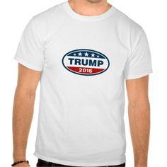 Oval Logo Trump 2016 T-T Shirt, Hoodie Sweatshirt