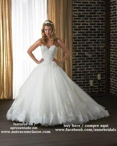 Vestidos de Noiva Anne Bridals.  Wedding Gowns Anne Bridals. http://www.noivacomclasse.com/2013/10/anne-bridals-belos-vestidos-de-noiva.html