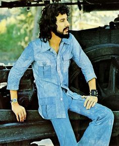 """Cat Stevens I need to be a rock star (themed teacher costumes), so I will wear all denim and a leather bracelet, curl my hair, wear a name tag that says """"Stevens"""" and cat ears and whiskers. haha"""